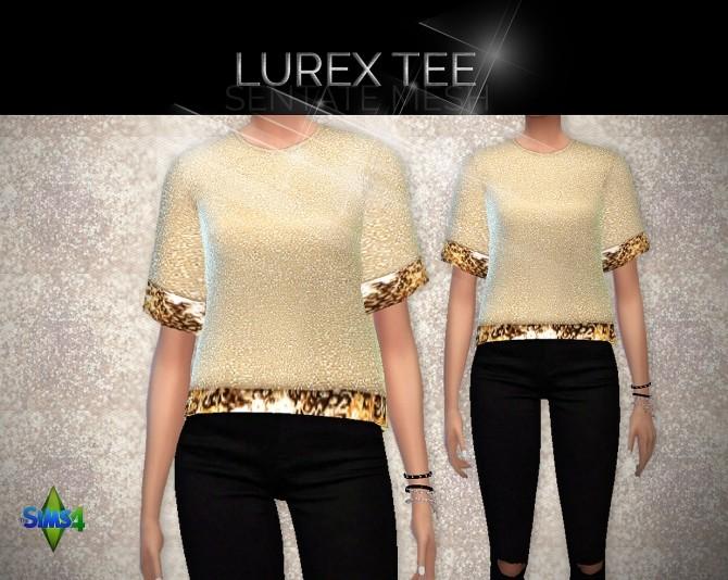 Sims 4 Lurex Tee recolor at Rimshard Shop