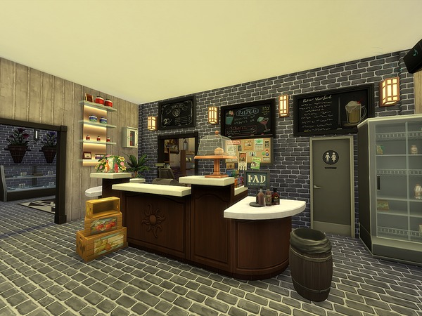 Sims 4 The Taste Buffet by Ineliz at TSR