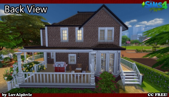 Sims 4 A Lovely Garden by luvalphvle at Mod The Sims