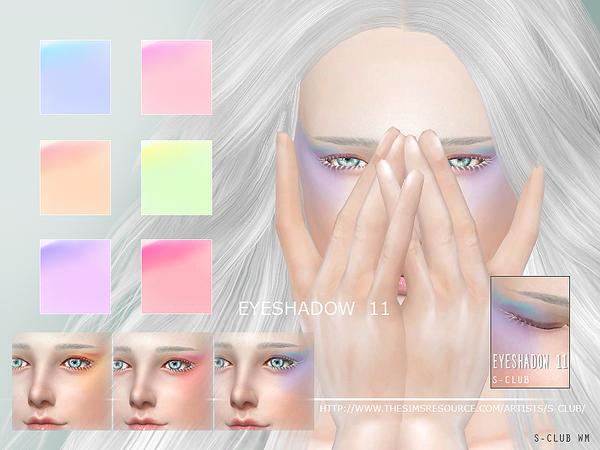 Sims 4 Eyeshadow 11 by S Club WM at TSR