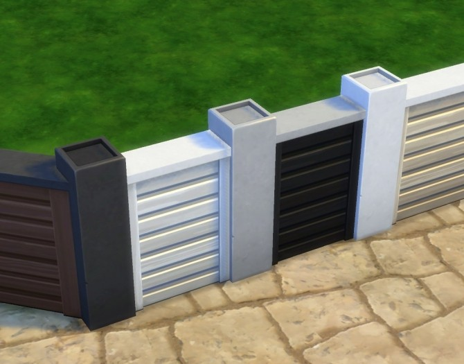 Tuftless Fencepost Mesh Override by plasticbox at Mod The Sims image 643 670x525 Sims 4 Updates
