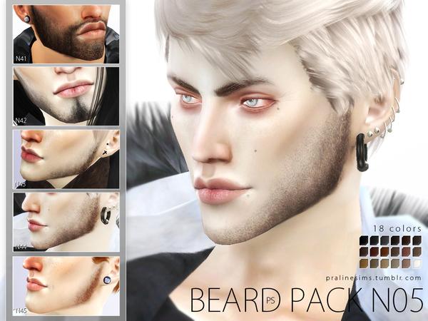 Beard Pack N05 by Pralinesims at TSR image 645 Sims 4 Updates