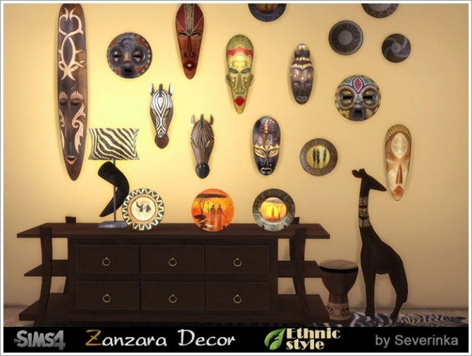 Zanzara decor at Sims by Severinka image 6512 670x505 Sims 4 Updates