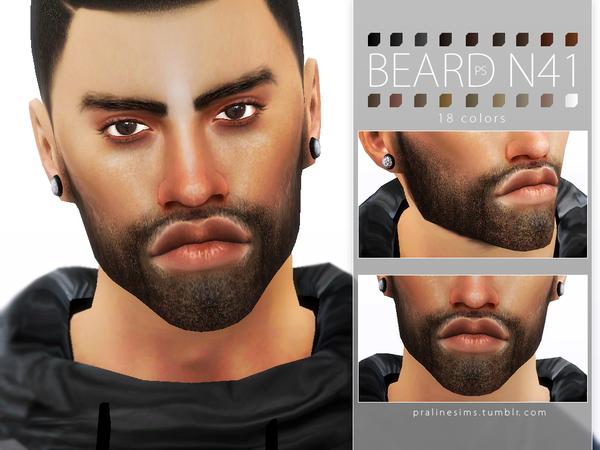 Beard Pack N05 by Pralinesims at TSR image 654 Sims 4 Updates