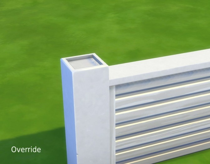 Tuftless Fencepost Mesh Override by plasticbox at Mod The Sims image 663 670x525 Sims 4 Updates