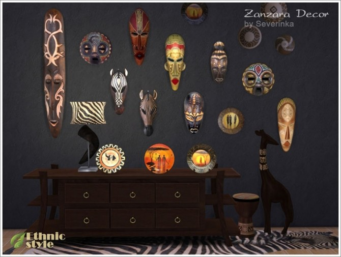 Zanzara decor at Sims by Severinka image 6713 670x505 Sims 4 Updates