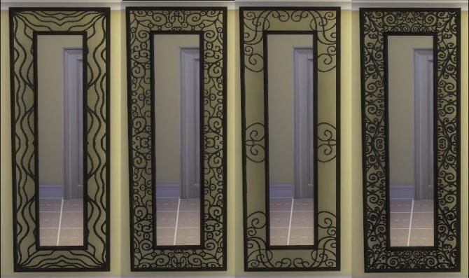 Sims 4 Big wall mirror conversion from Parsimonious by Hinayuna at SimsWorkshop