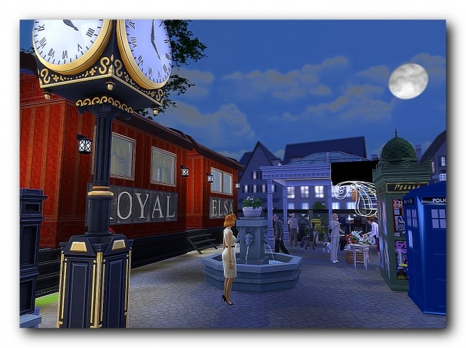 Sims 4 Elsa Royal cocktail bar at Architectural tricks from Dalila