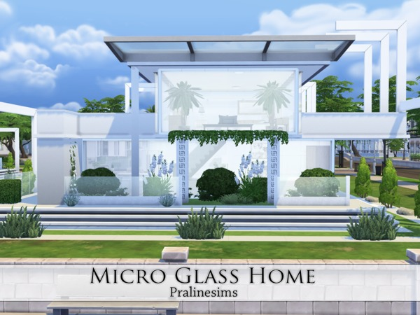 Micro Glass Home by Pralinesims at TSR image 7310 Sims 4 Updates