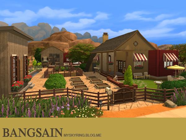004 Farm House by myskyring at TSR image 7610 Sims 4 Updates