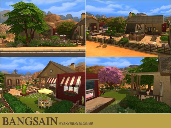 004 Farm House by myskyring at TSR image 779 Sims 4 Updates
