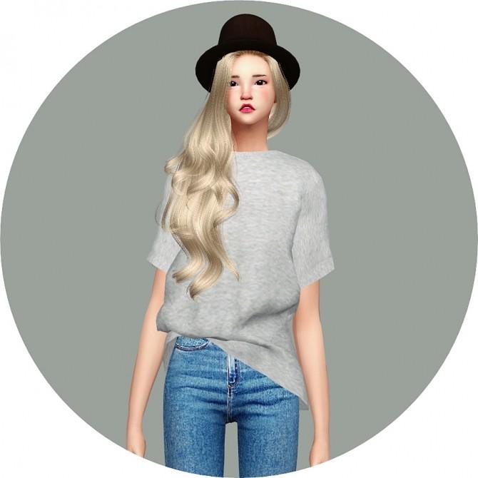 Free Boxy Tee at Marigold image 78 670x670 Sims 4 Updates