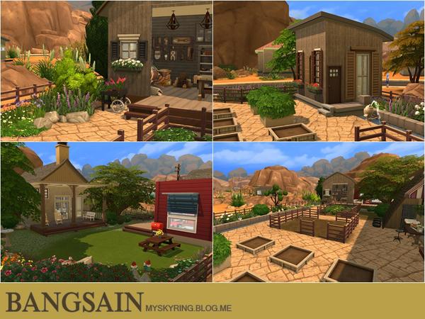 004 Farm House by myskyring at TSR image 789 Sims 4 Updates