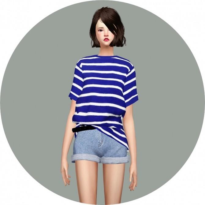 Free Boxy Tee at Marigold image 791 670x670 Sims 4 Updates