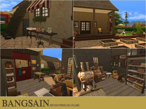 004 Farm House by myskyring at TSR image 7910 Sims 4 Updates