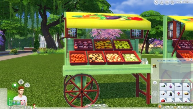 Fruitand Veggie Stands by JPCopeSIMs at SimsWorkshop image 793 670x379 Sims 4 Updates