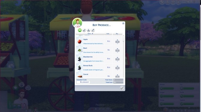 Fruitand Veggie Stands by JPCopeSIMs at SimsWorkshop image 803 670x375 Sims 4 Updates