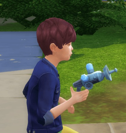 Freeze Ray Gun as a toy by BigUglyHag at SimsWorkshop image 81 1 Sims 4 Updates