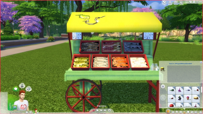Fish stands by jpcopesims at simsworkshop sims 4 updates for Sims 4 fishing