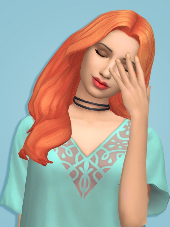 Sims 4 39 Recolours of 6 Hairs by xDeadGirlWalking at SimsWorkshop