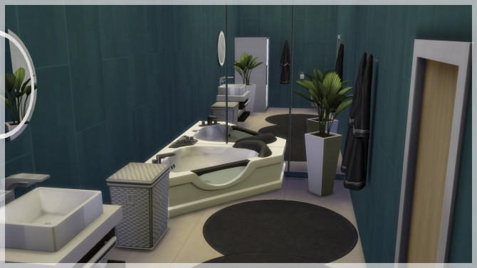 Sims 4 Horisont house by Indra at SimsWorkshop