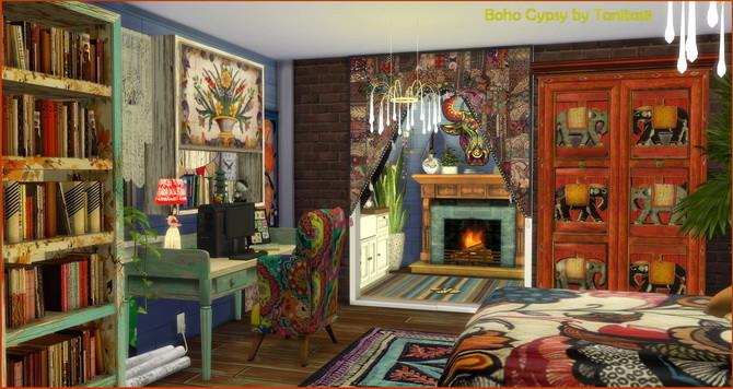 Boho Gypsy Lot At Tanitas8 Sims