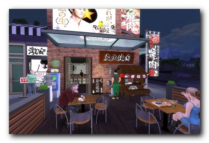 Sims 4 Taito center at Architectural tricks from Dalila