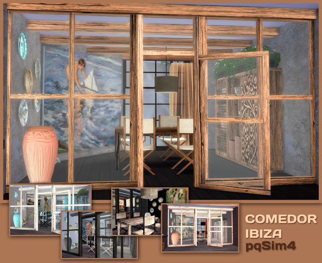 Ibiza diningroom at pqSims4 image 921 Sims 4 Updates