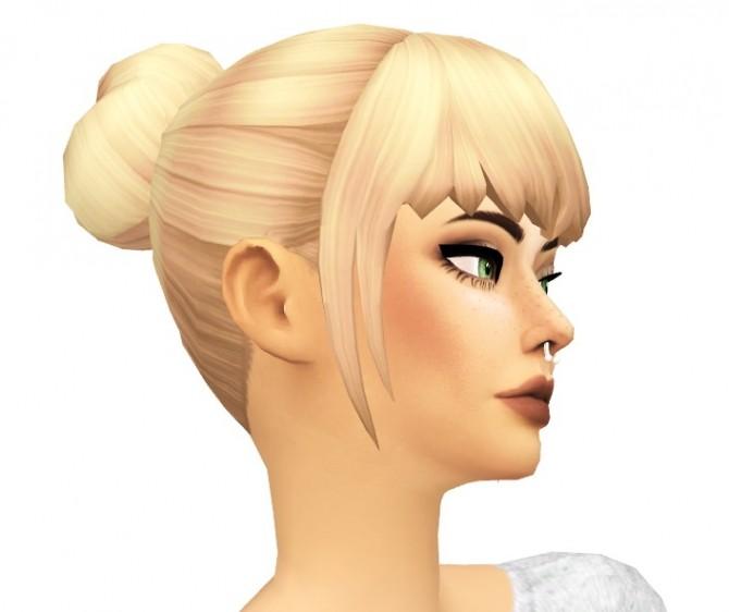 Buns n Bangs Hair by sarella sims at SimsWorkshop image 9215 670x562 Sims 4 Updates