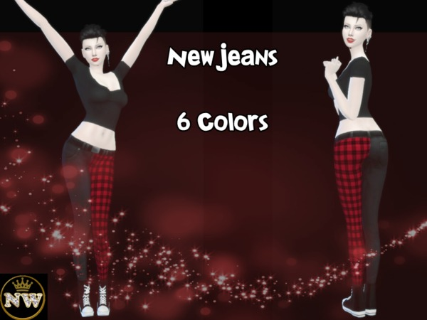 Sims 4 New Jeans by Naddiswelt at TSR