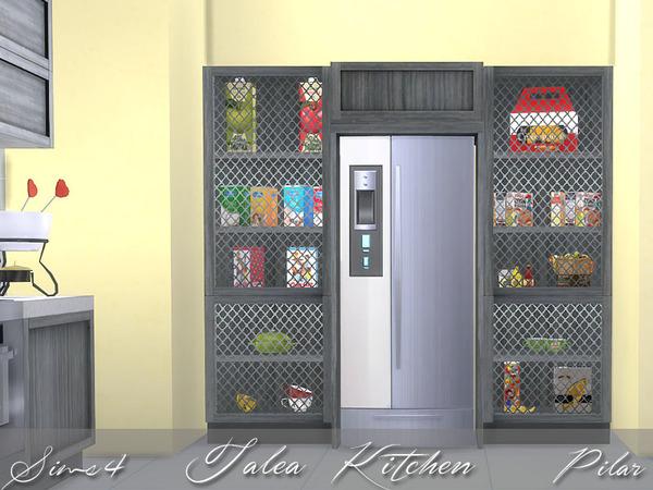 Sims 4 Talea kitchen by Pilar at TSR