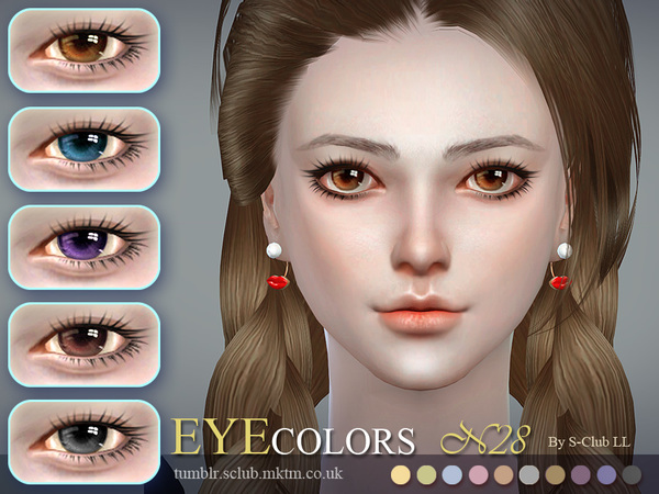 Sims 4 Eyecolor 28 by S Club LL at TSR