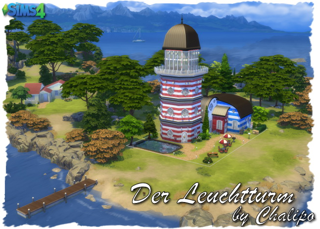 Sims 4 The lighthouse by Chalipo at All 4 Sims