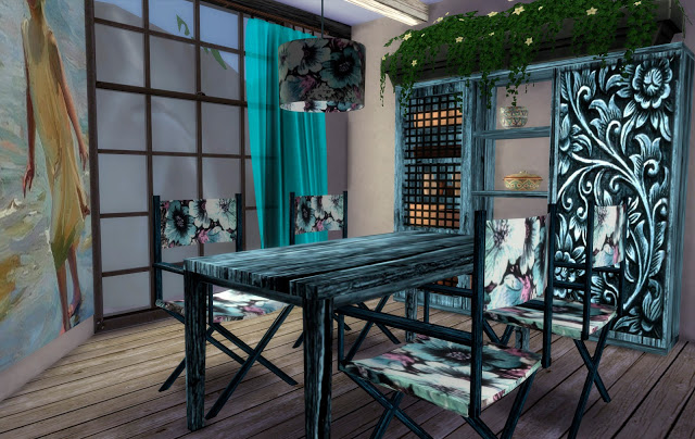 Ibiza diningroom at pqSims4 image 971 Sims 4 Updates