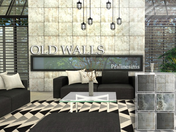 Old Walls by Pralinesims at TSR image 980 Sims 4 Updates