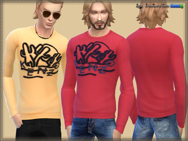 Sims 4 K. shirt at Bukovka