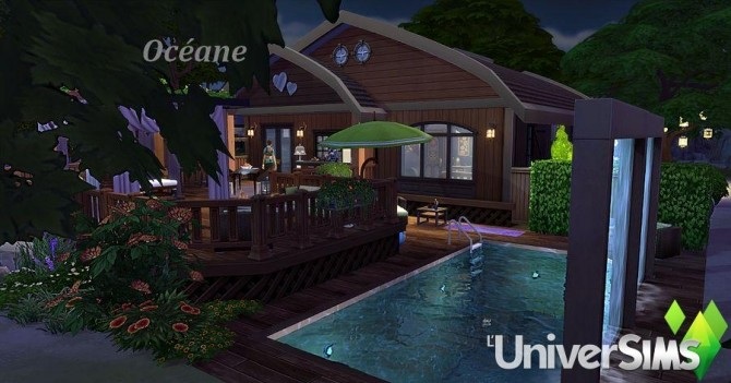 Sims 4 Océane house by Sirhc59 at L'UniverSims