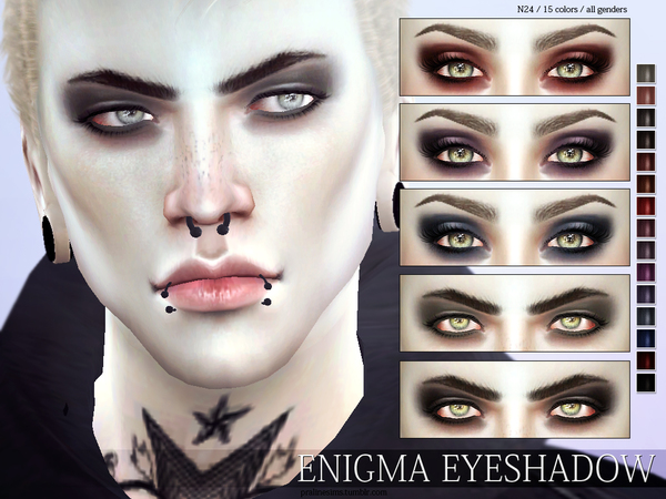 Enigma Eyeshadow N24 by Pralinesims at TSR image 10 Sims 4 Updates