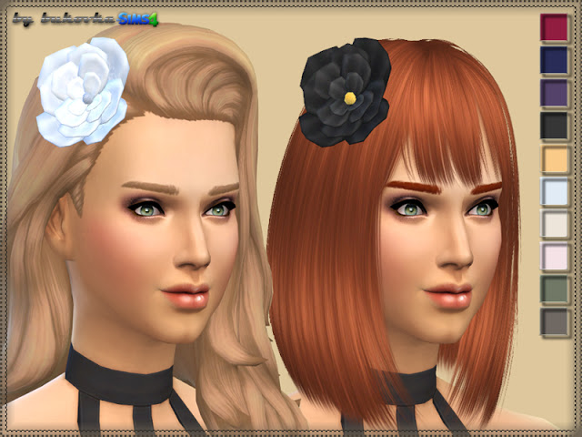 Flower headwear at Bukovka image 1022 Sims 4 Updates