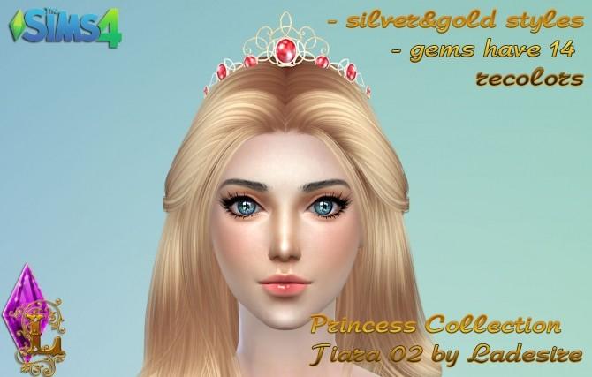 Princess Collection Tiara 02 at Ladesire image 1041 670x427 Sims 4 Updates