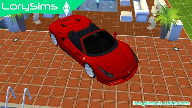 Ferrari 488 Spider at LorySims image 10413 670x377 Sims 4 Updates