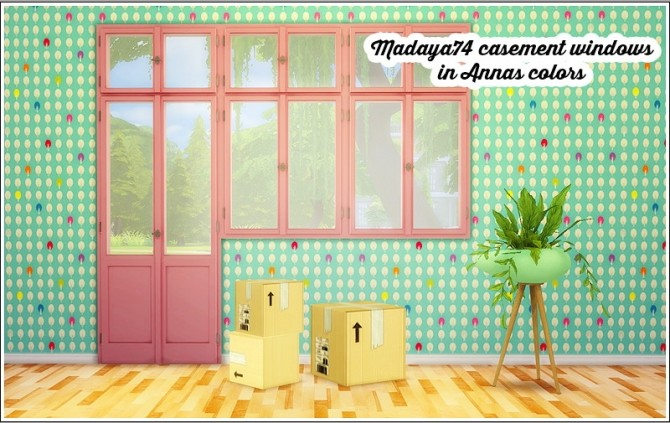 Madaya74′s Casement windows recolored at Lina Cherie image 1046 670x423 Sims 4 Updates