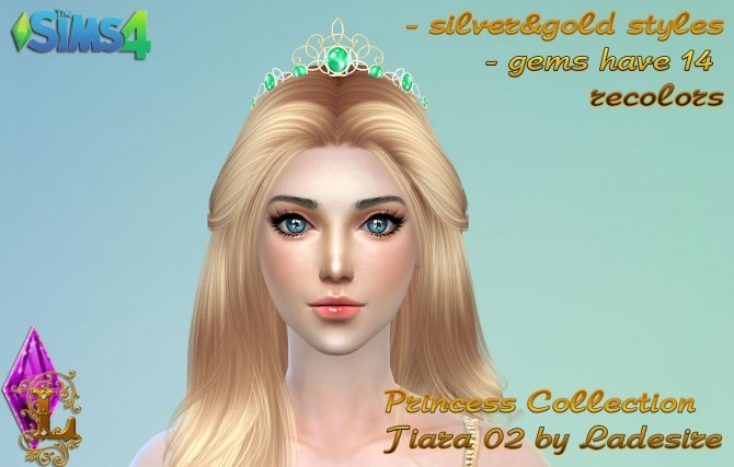 Princess Collection Tiara 02 at Ladesire image 1051 670x427 Sims 4 Updates