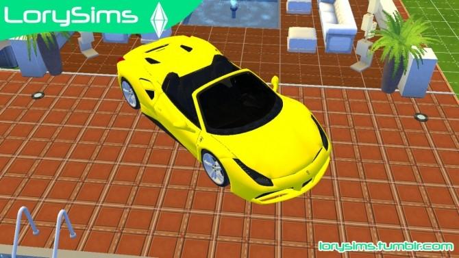Ferrari 488 Spider at LorySims image 10514 670x377 Sims 4 Updates