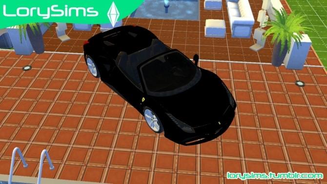 Ferrari 488 Spider at LorySims image 10613 670x377 Sims 4 Updates