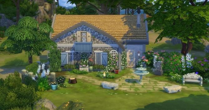 Sims 4 Aquarelle starter at Studio Sims Creation