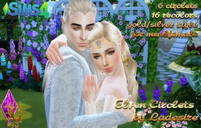 Elven Circlets At Ladesire 187 Sims 4 Updates