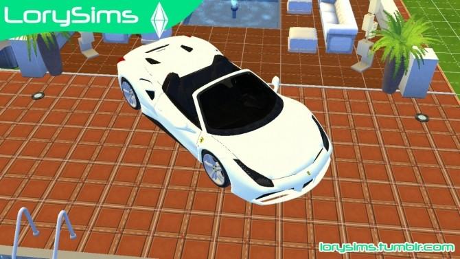 Ferrari 488 Spider at LorySims image 10712 670x377 Sims 4 Updates