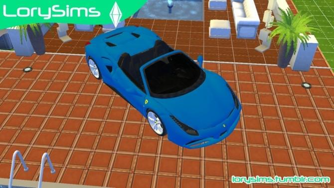 Ferrari 488 Spider at LorySims image 10812 670x377 Sims 4 Updates