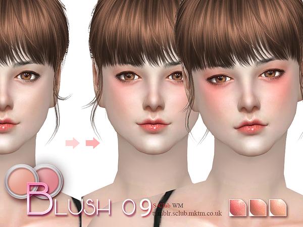 Blush 09 by S Club WM at TSR image 1107 Sims 4 Updates
